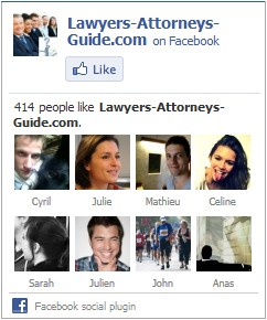 Lawyers Attorneys Guide on Facebook